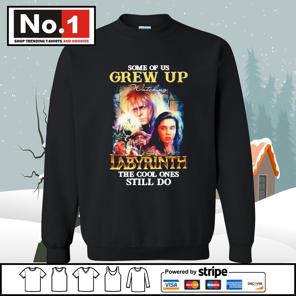 Some of us grew up watching Labyrinth the cool ones still do s sweater