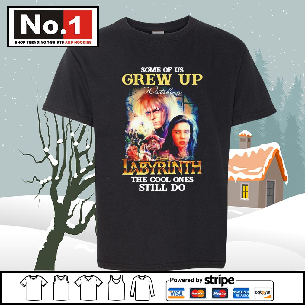 Some of us grew up watching Labyrinth the cool ones still do s youth-tee