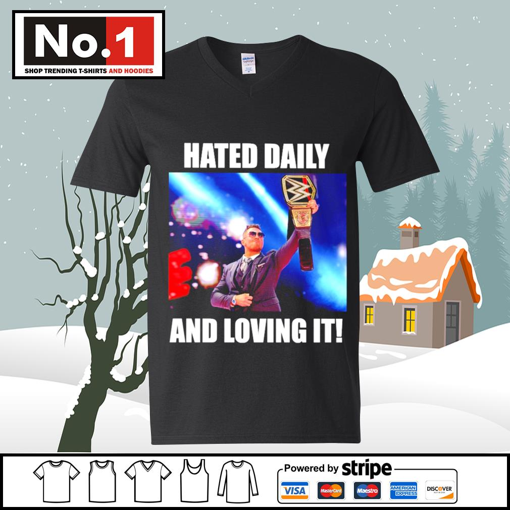 WWE hated daily and loving it s ladies-tee
