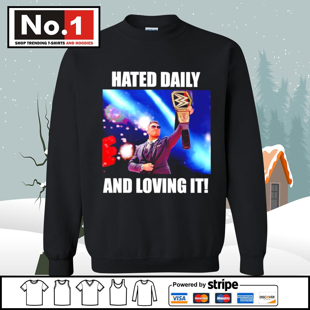 WWE hated daily and loving it s sweater