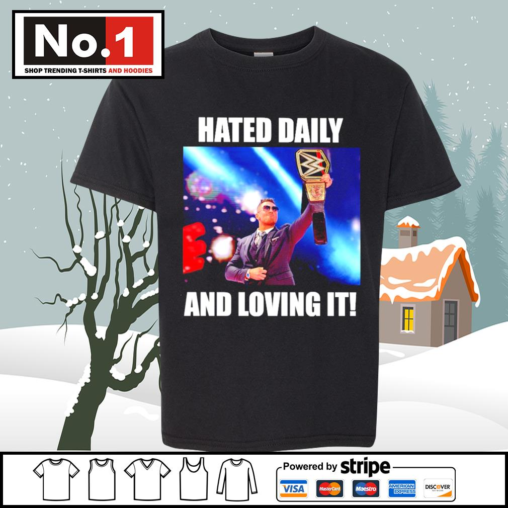 WWE hated daily and loving it s youth-tee