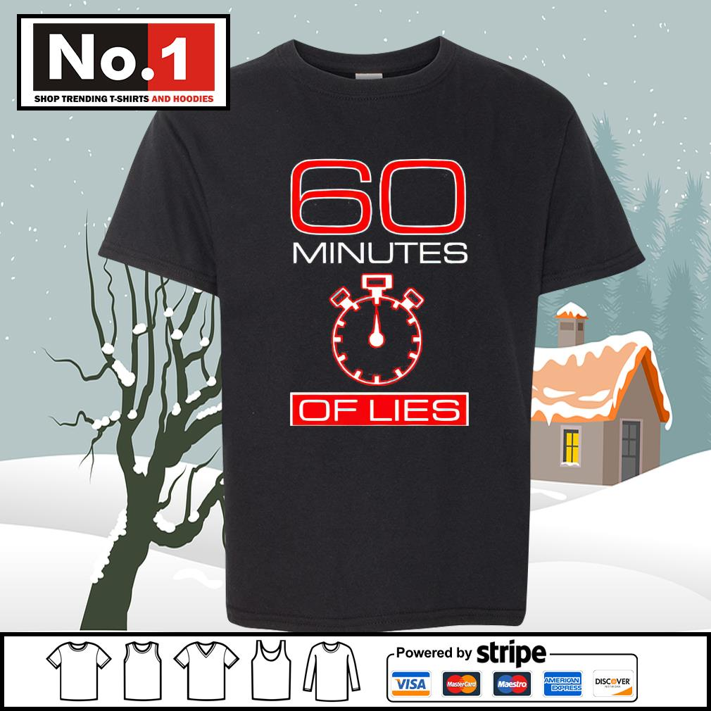 60 minutes of lies s youth-tee