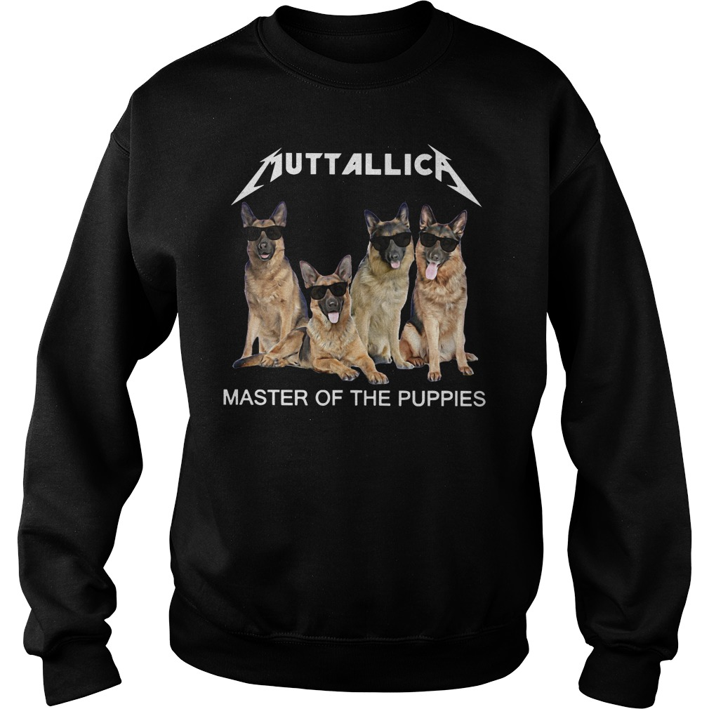 Metallica master of the Puppies sweater