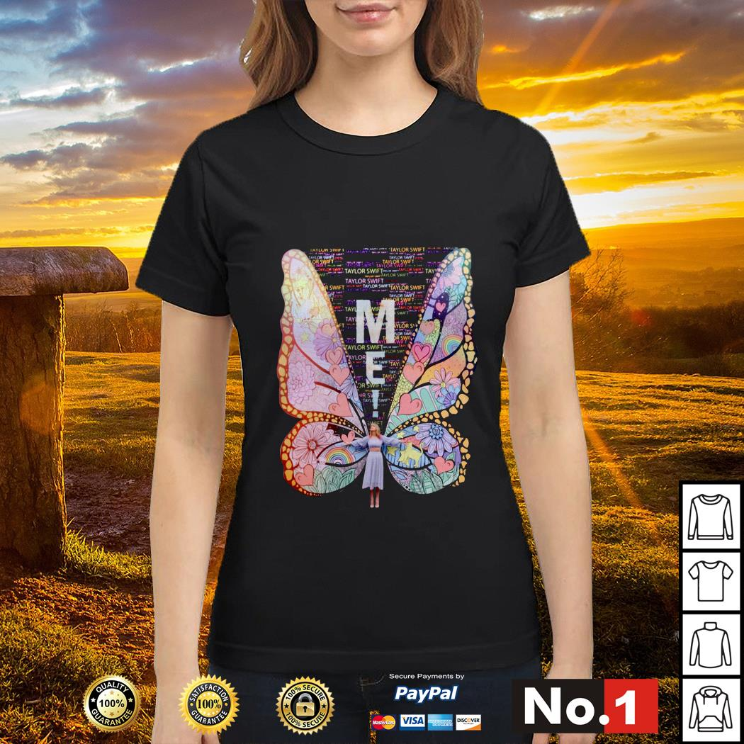 Butterfly me Taylor Swift Ladies tee