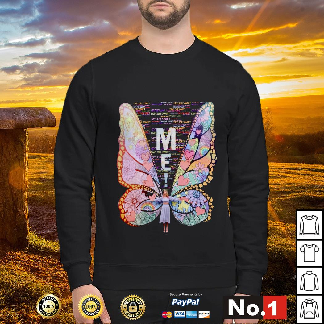 Butterfly me Taylor Swift Sweater