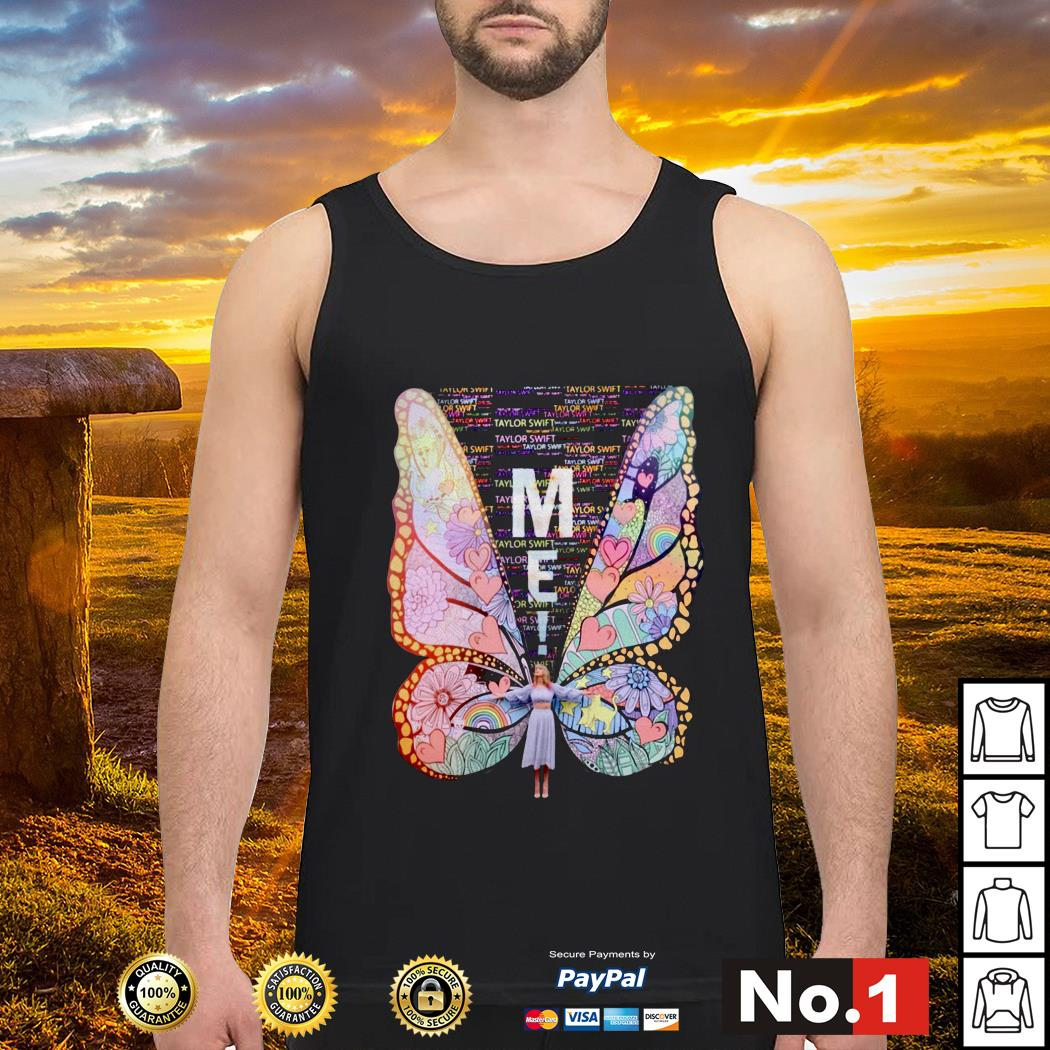 Butterfly me Taylor Swift Tank top