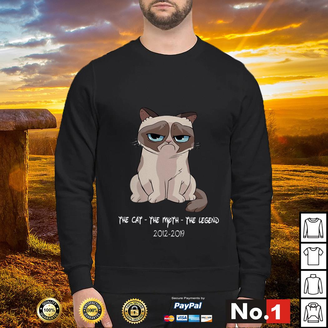 The Cat - The Moth - The Lengend 2012 - 2019 Grumpy Cat Sweater