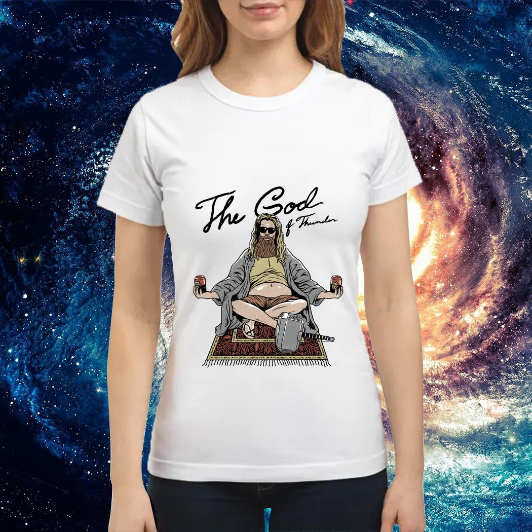 Fat Thor the God of Thunder Ladies tee