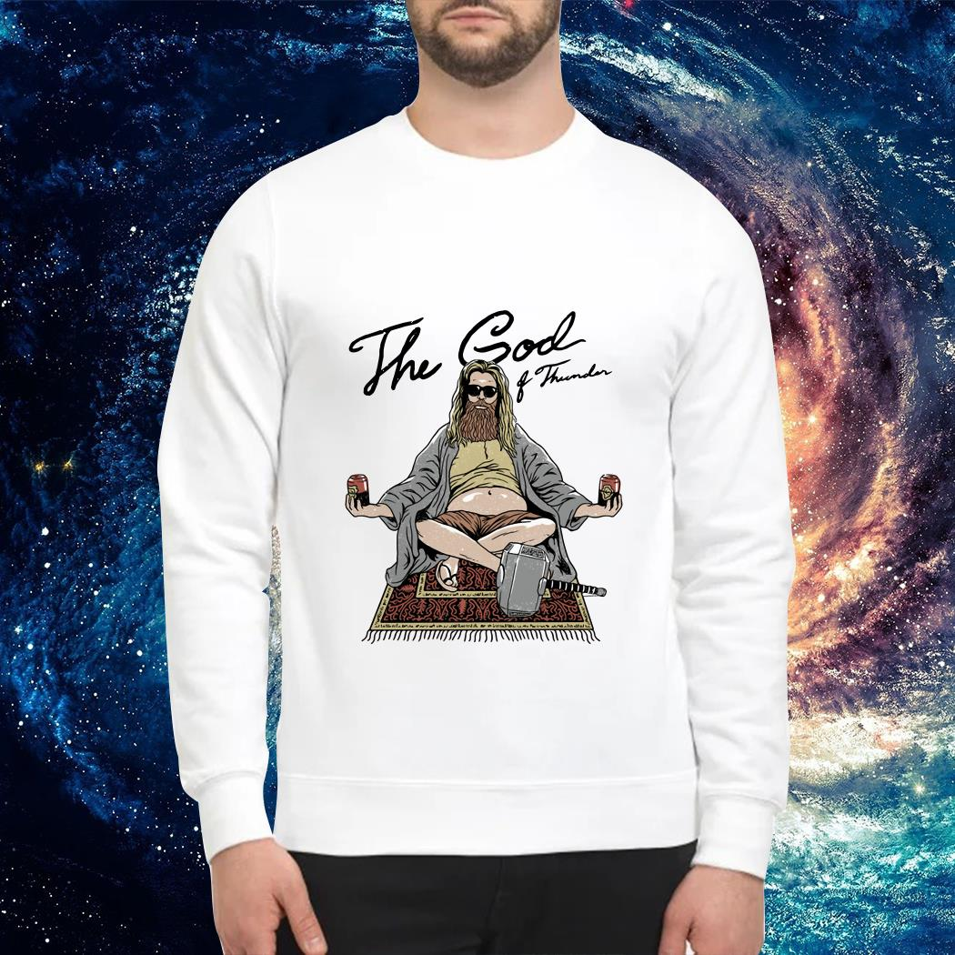 Fat Thor the God of Thunder Sweater