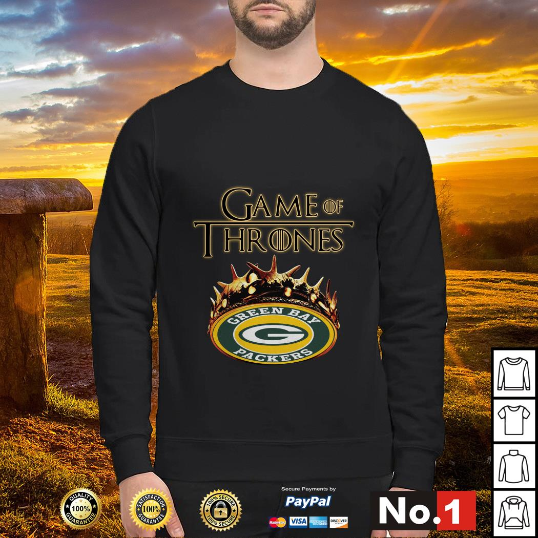 Game of Thrones Crown Green Bay Packers Sweater
