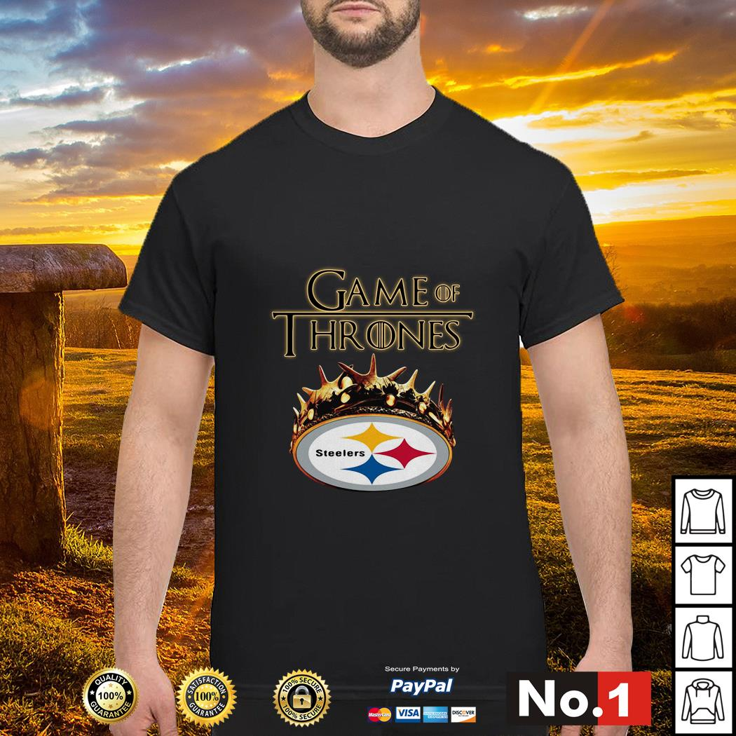 Game of Thrones Pittsburgh Steelers shirt