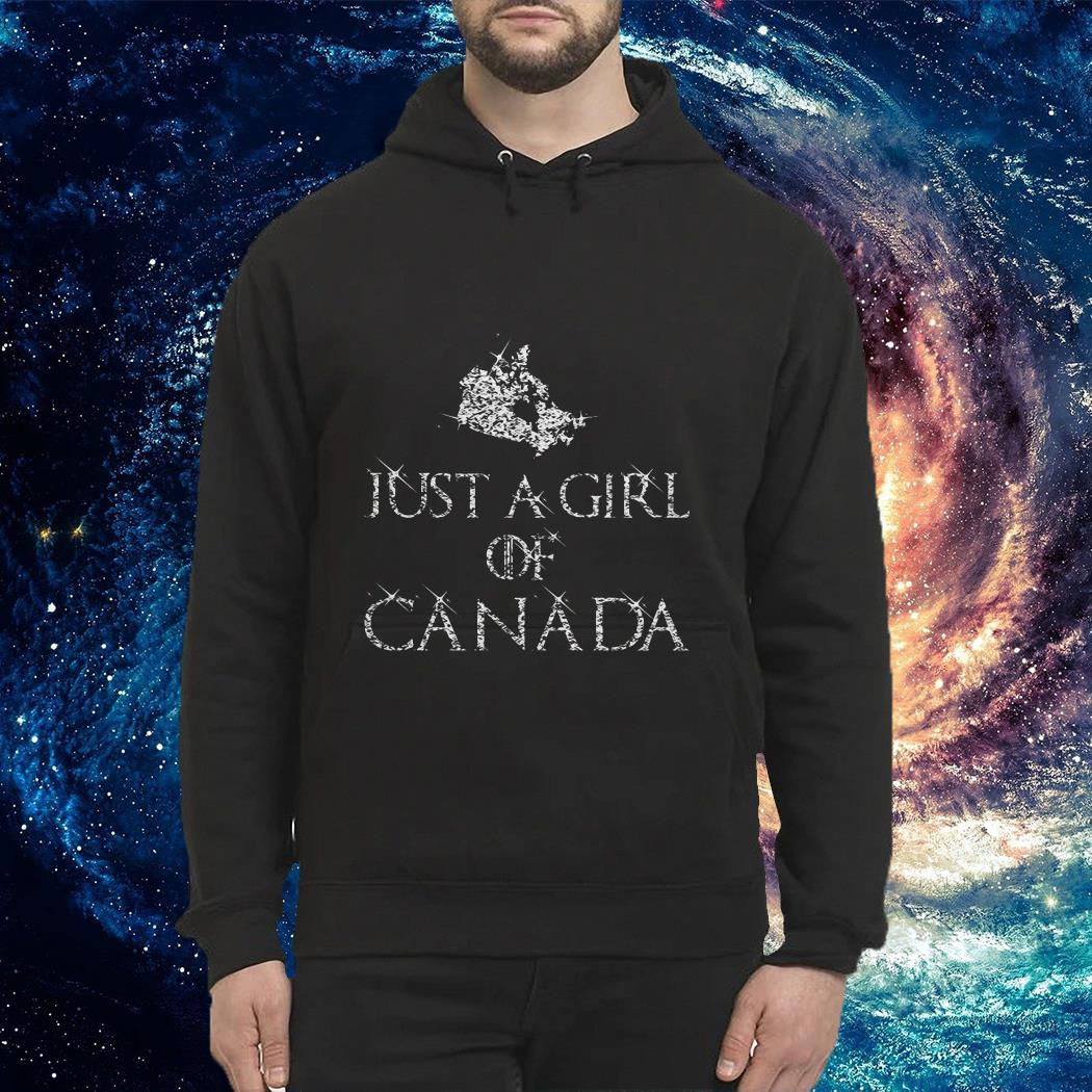 Just a girl of Canada Hoodie