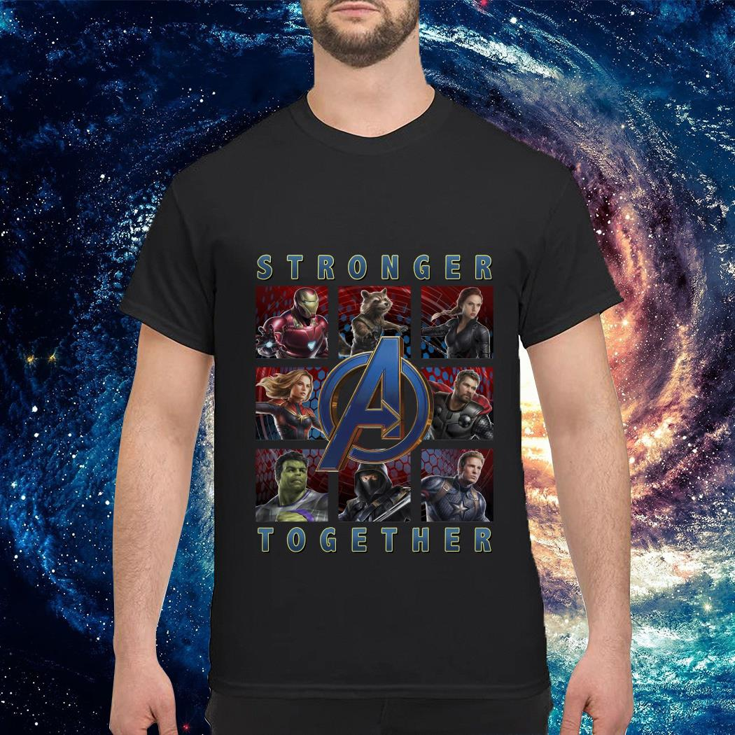 Marvel Avenger endgame stronger together shirt