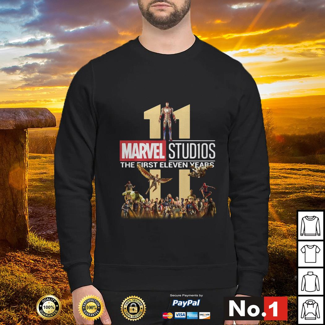 Marvel Studios the first eleven years Sweater