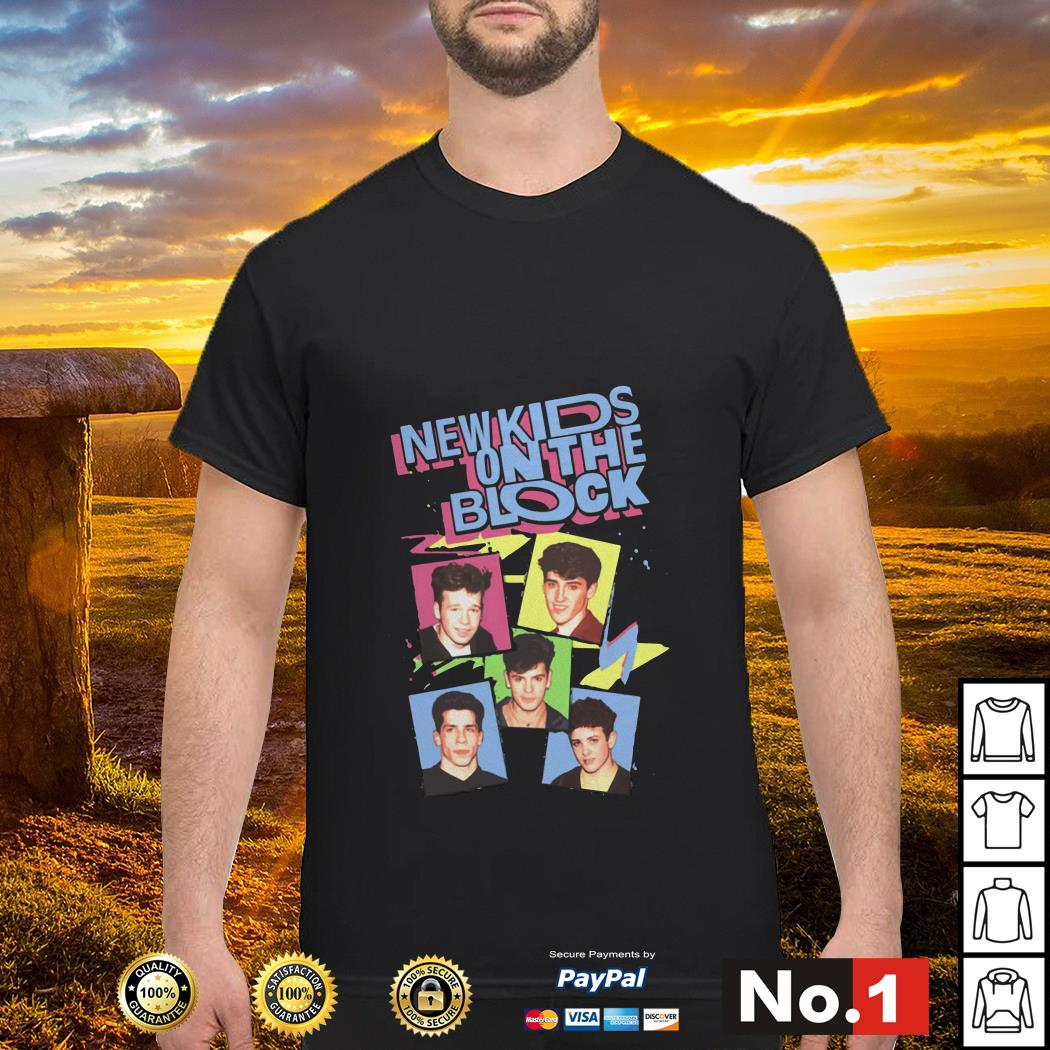 Pop Music Boy Band New Kids On The Block Shirt