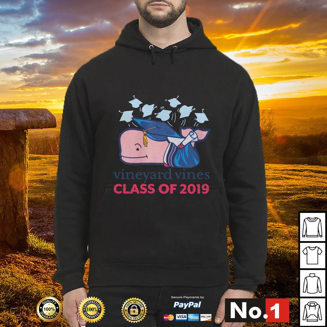 Vineyard vines graduation class of 2019 Hoodie