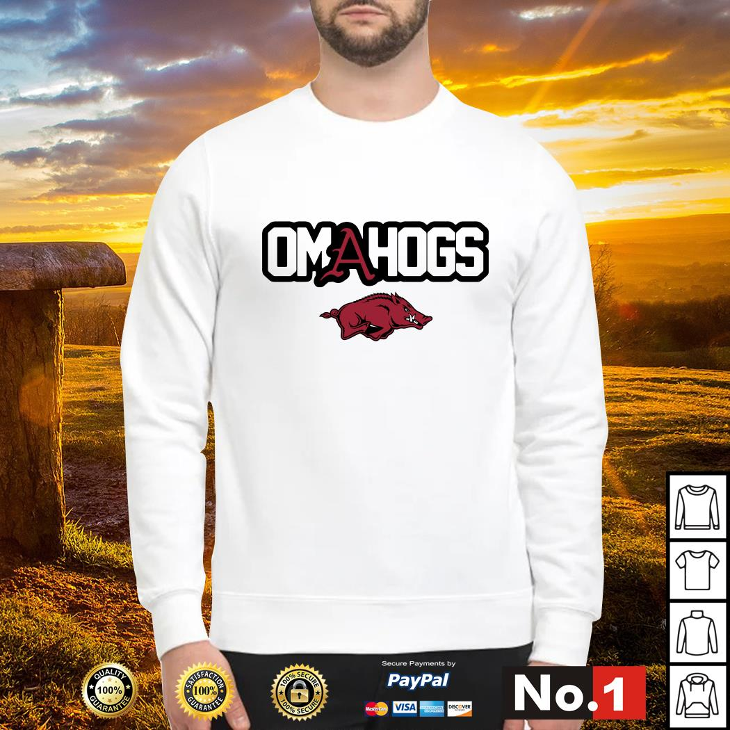 Arkansas Razorbacks college world series Omahogs Sweater