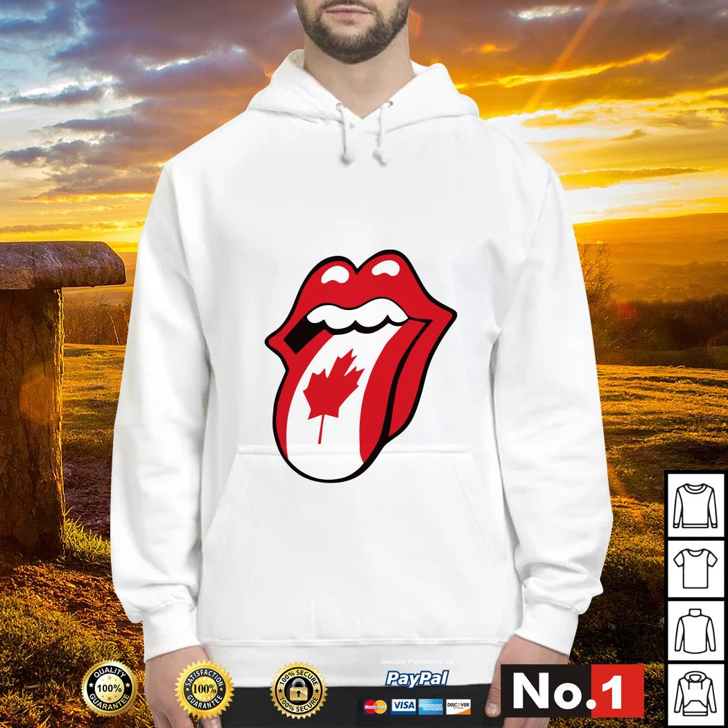 The Rolling Stones Canadian flag Hoodie
