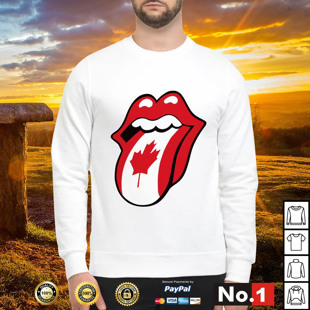 The Rolling Stones Canadian flag Sweater
