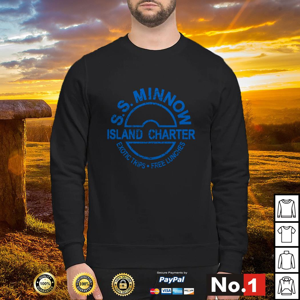 S.S.Minnow island charter exotic trips free lunches Sweater