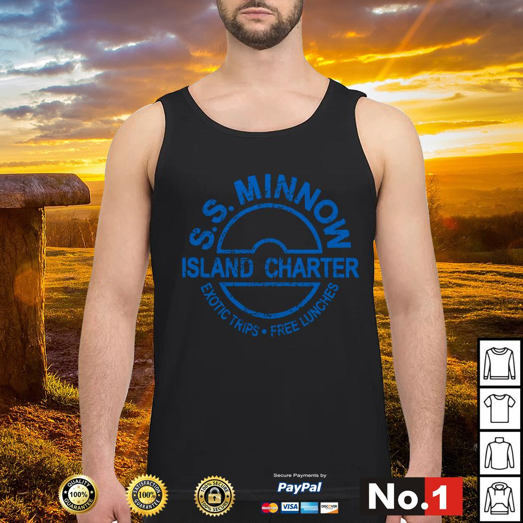 S.S.Minnow island charter exotic trips free lunches Tank top