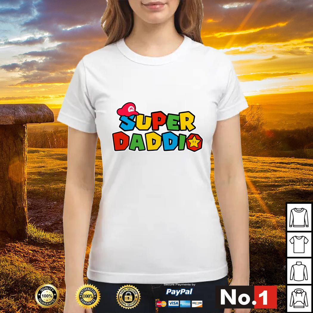 Super Daddio father's day Ladies tee