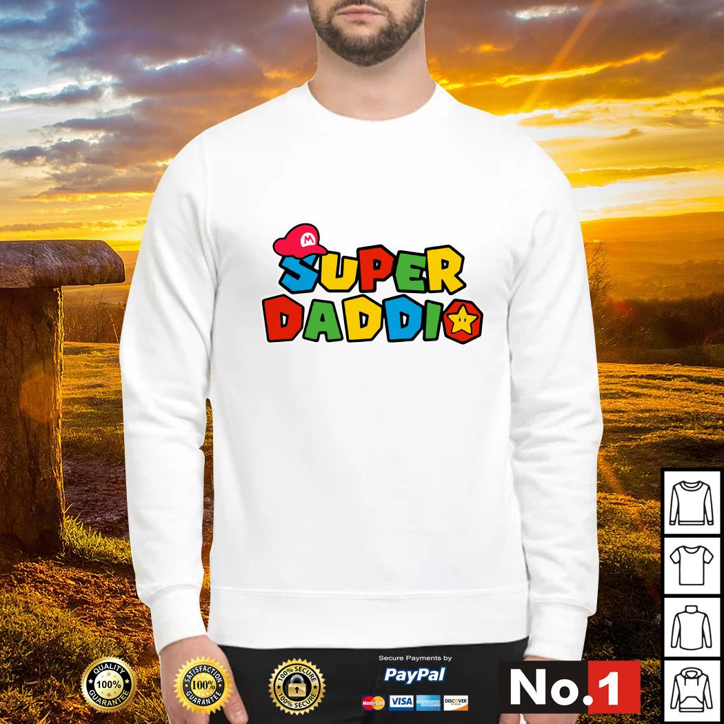 Super Daddio father's day Sweater