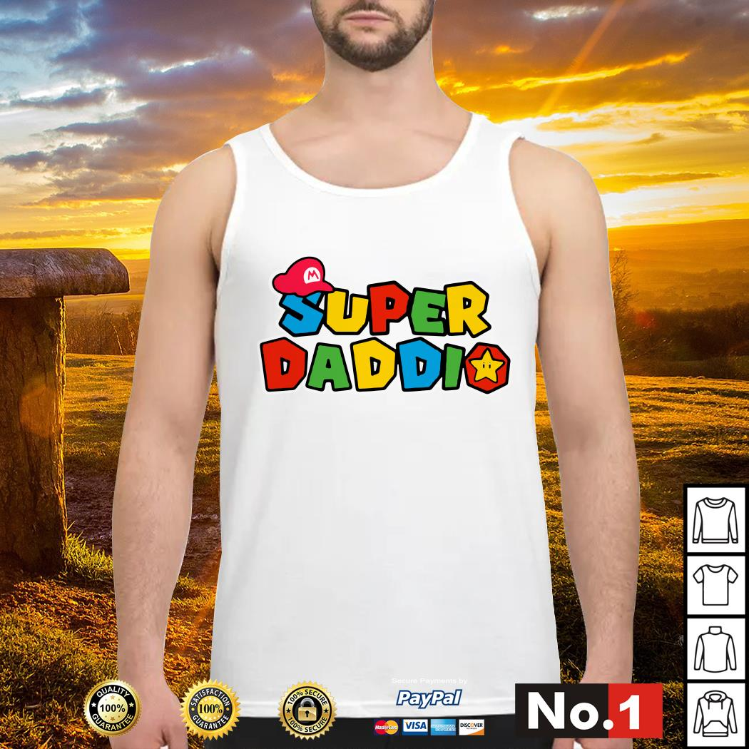 Super Daddio father's day Tank top