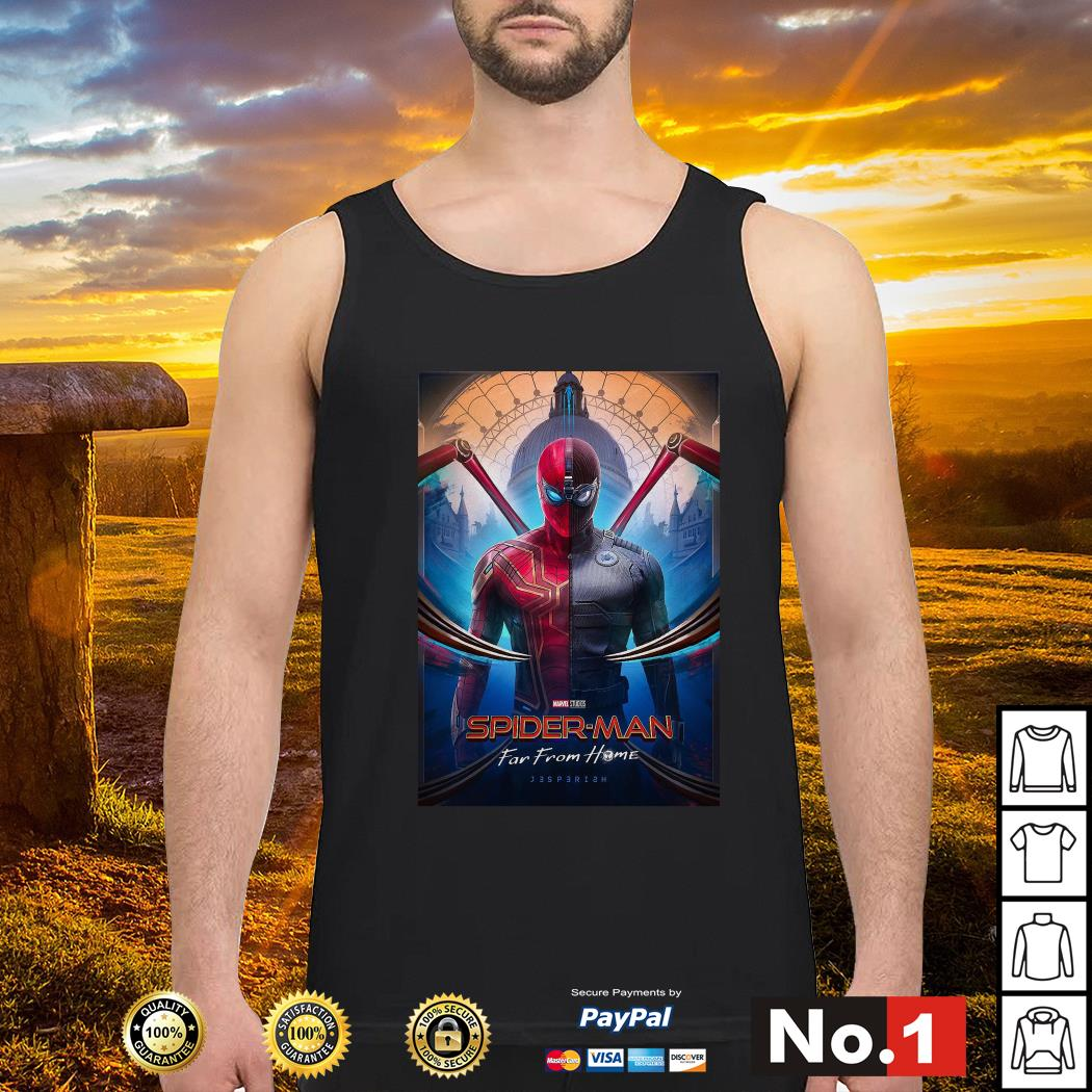 Marvel Studios Spider-Man far from home tank-top