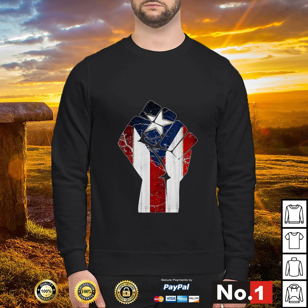 Puerto Rico punch sweater