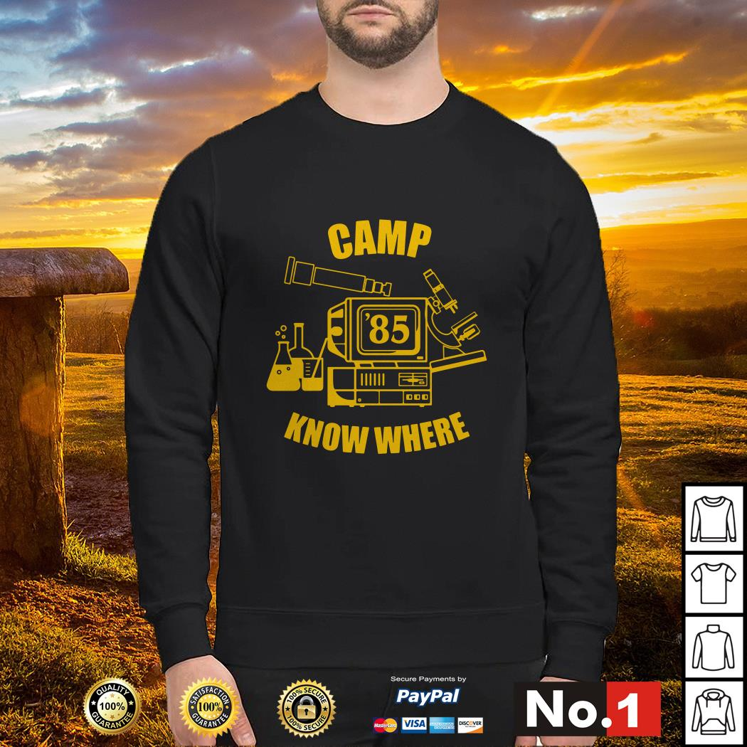 Camp know where Stranger things Sweater