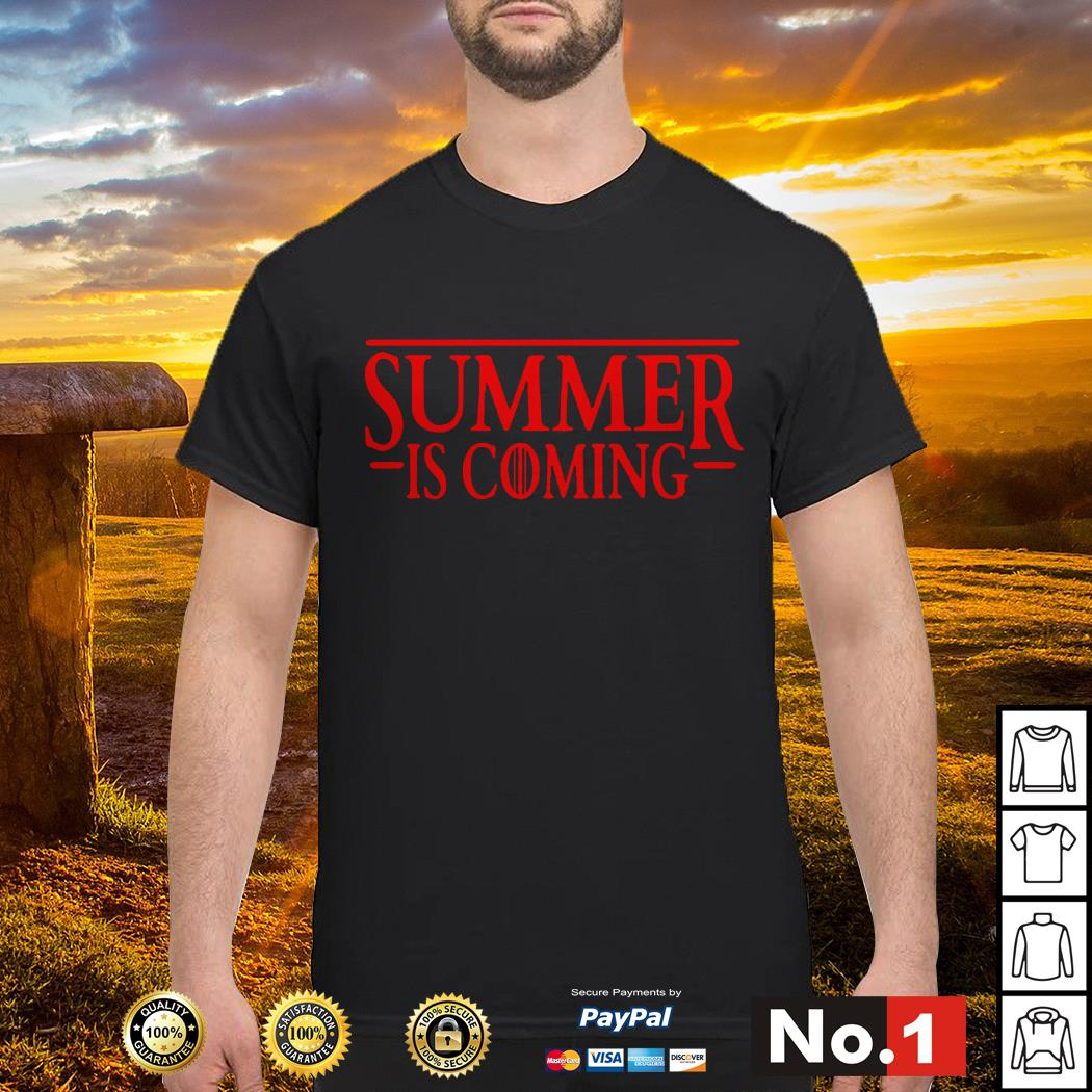 Stranger Things Summer is Coming GOT shirt