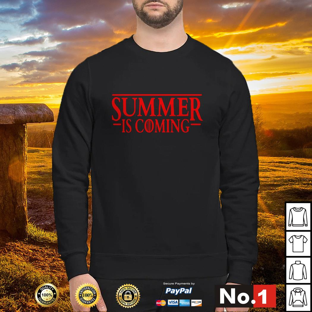 Stranger Things Summer is Coming GOT Sweater