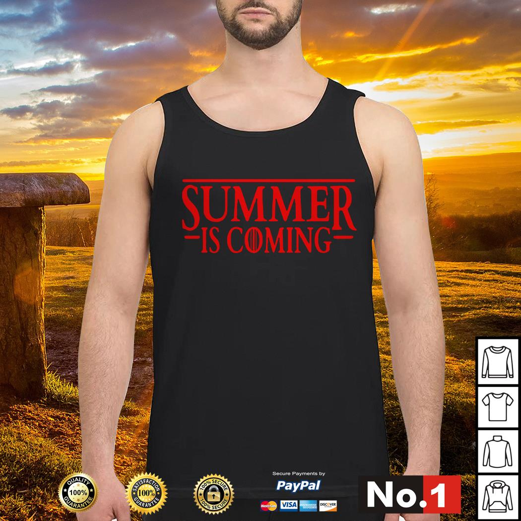 Stranger Things Summer is Coming GOT Tank top