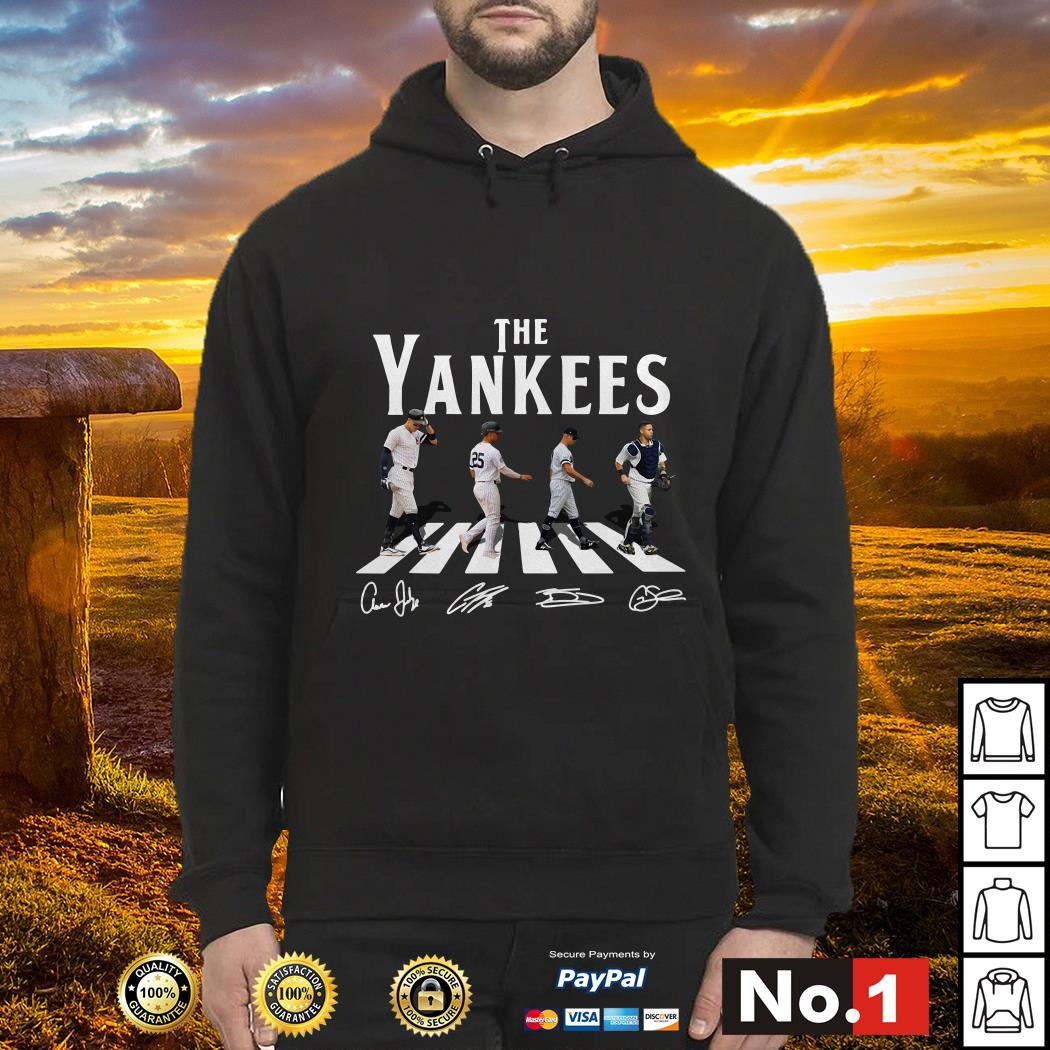 Abbey Road The Yankees signature hoodie
