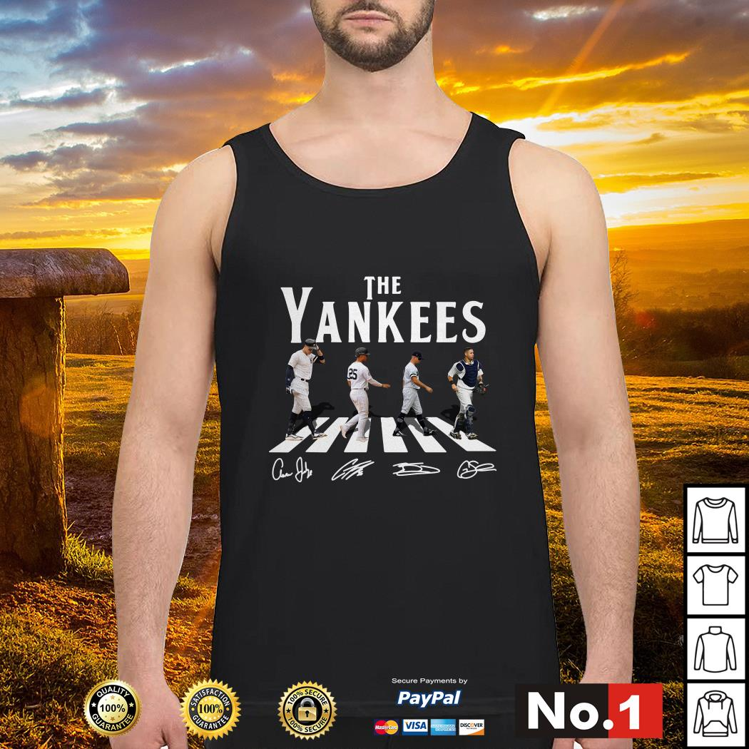 Abbey Road The Yankees signature tank-top