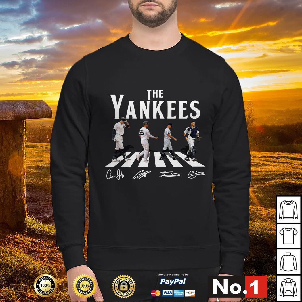 Abbey Road The Yankees signature swaeter