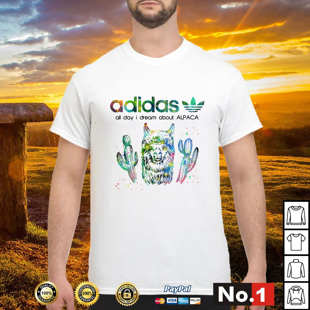 Adidas all day I dream about alpaca shirt