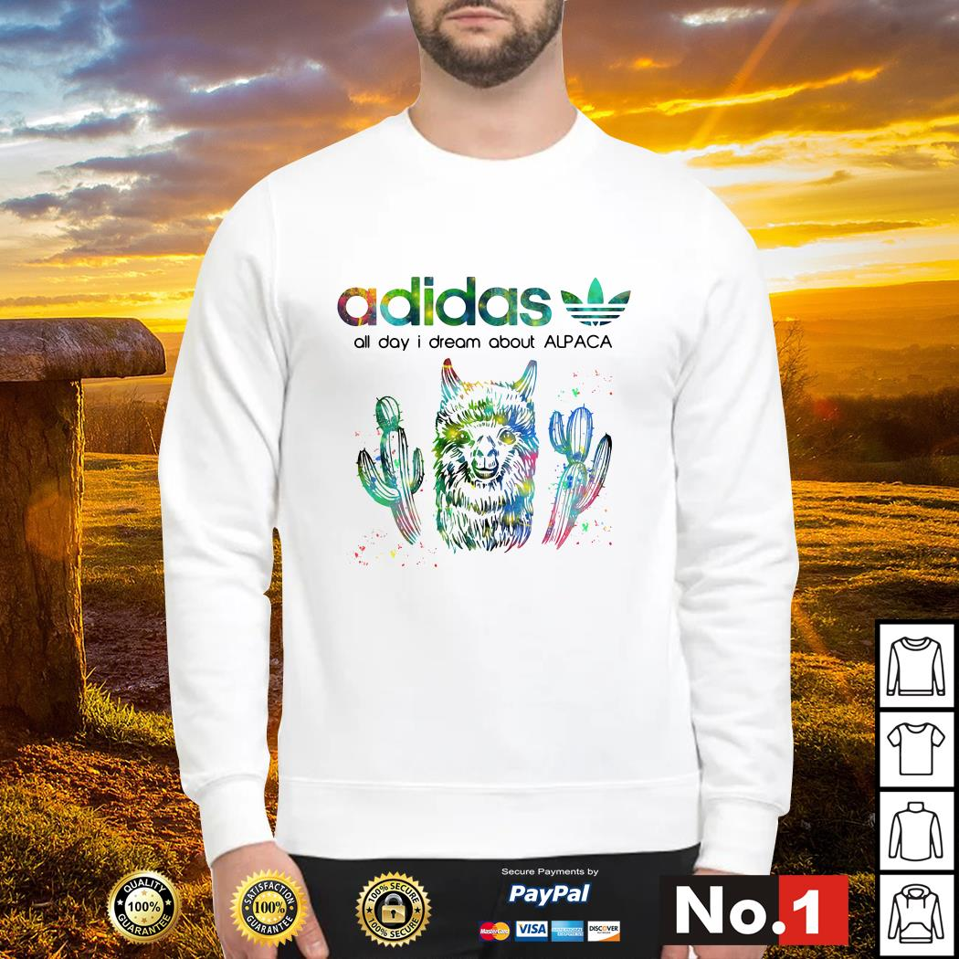 Adidas all day I dream about alpaca sweater