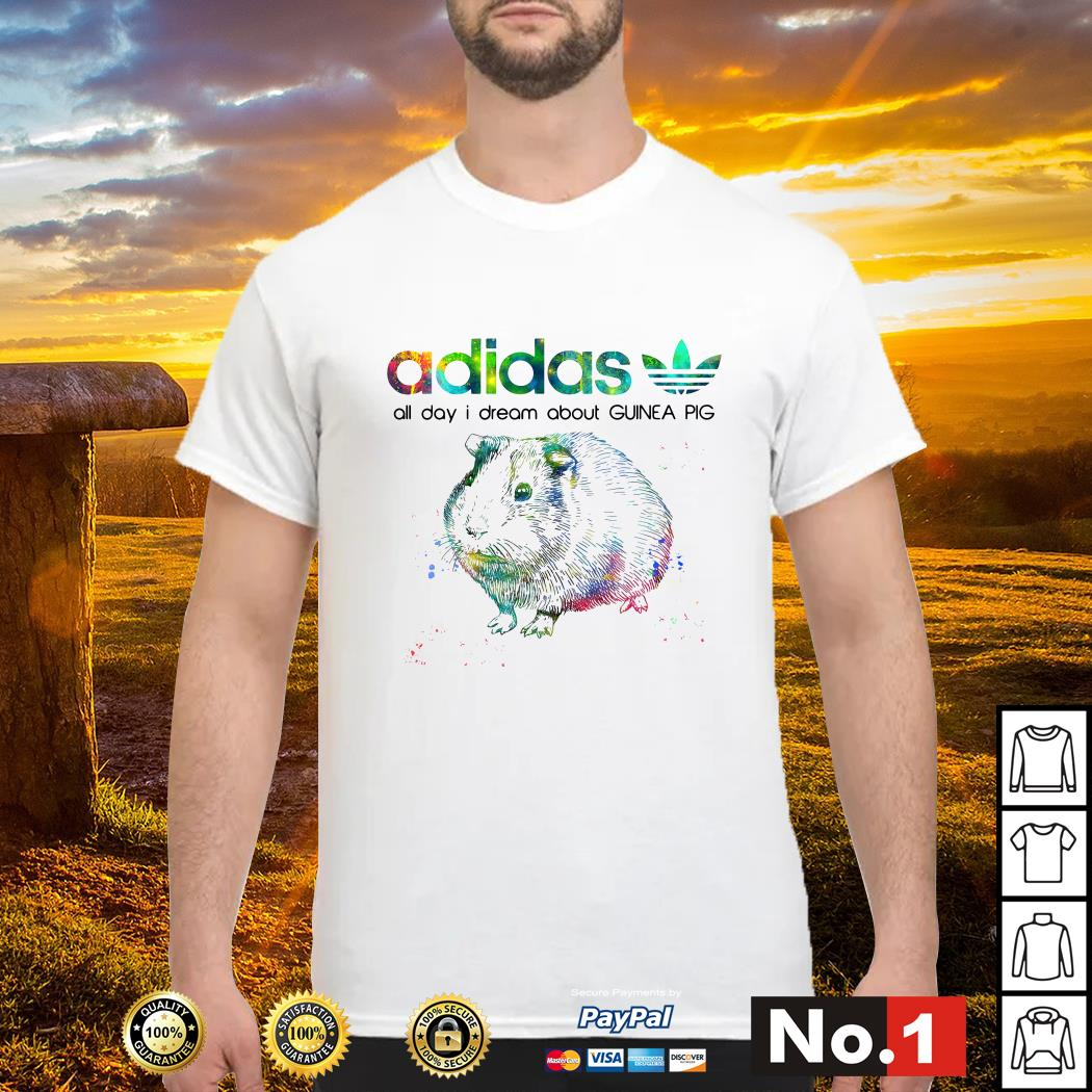 Adidas all day I dream about guinea pig shirt