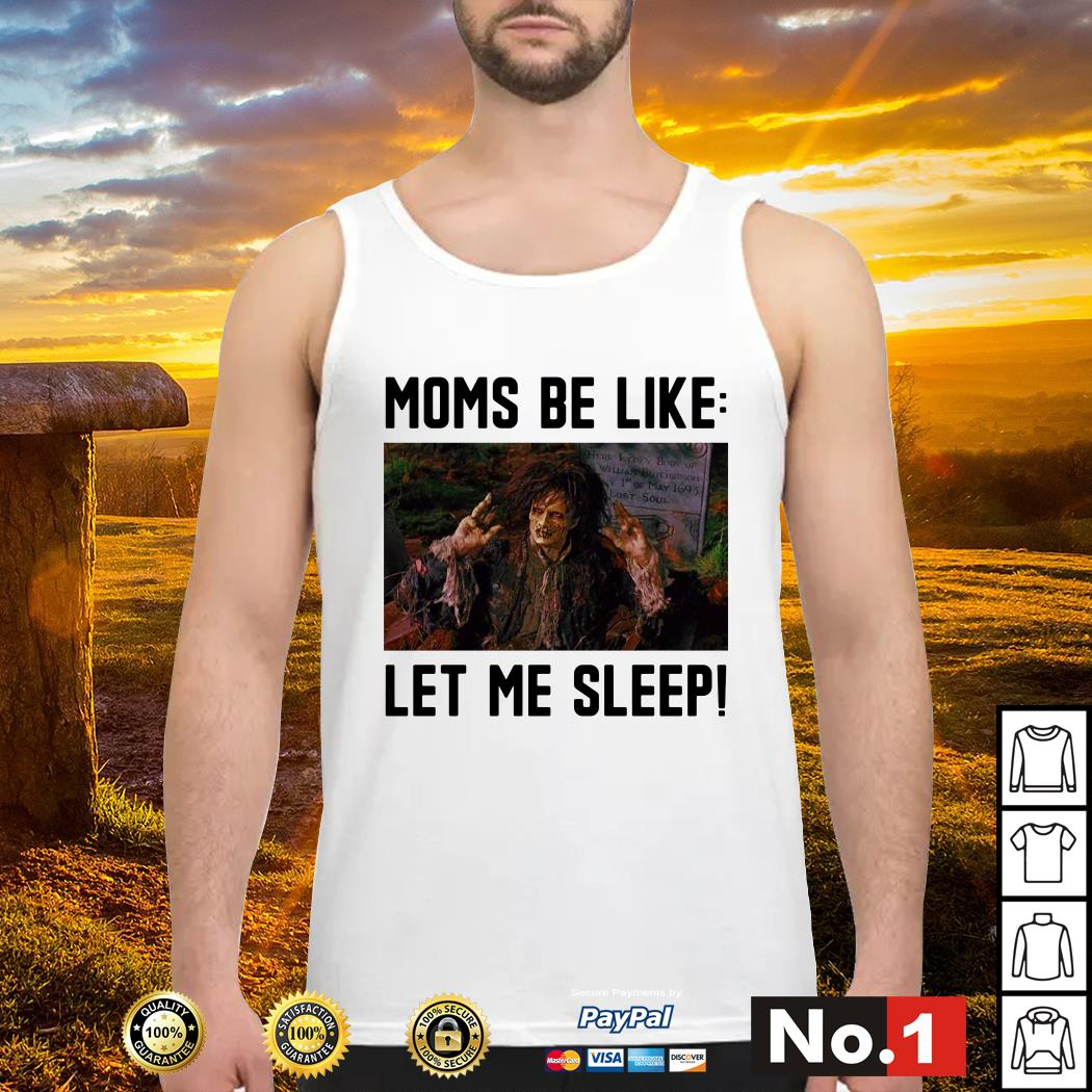 Billy Butcherson moms be like let me sleep tank-top