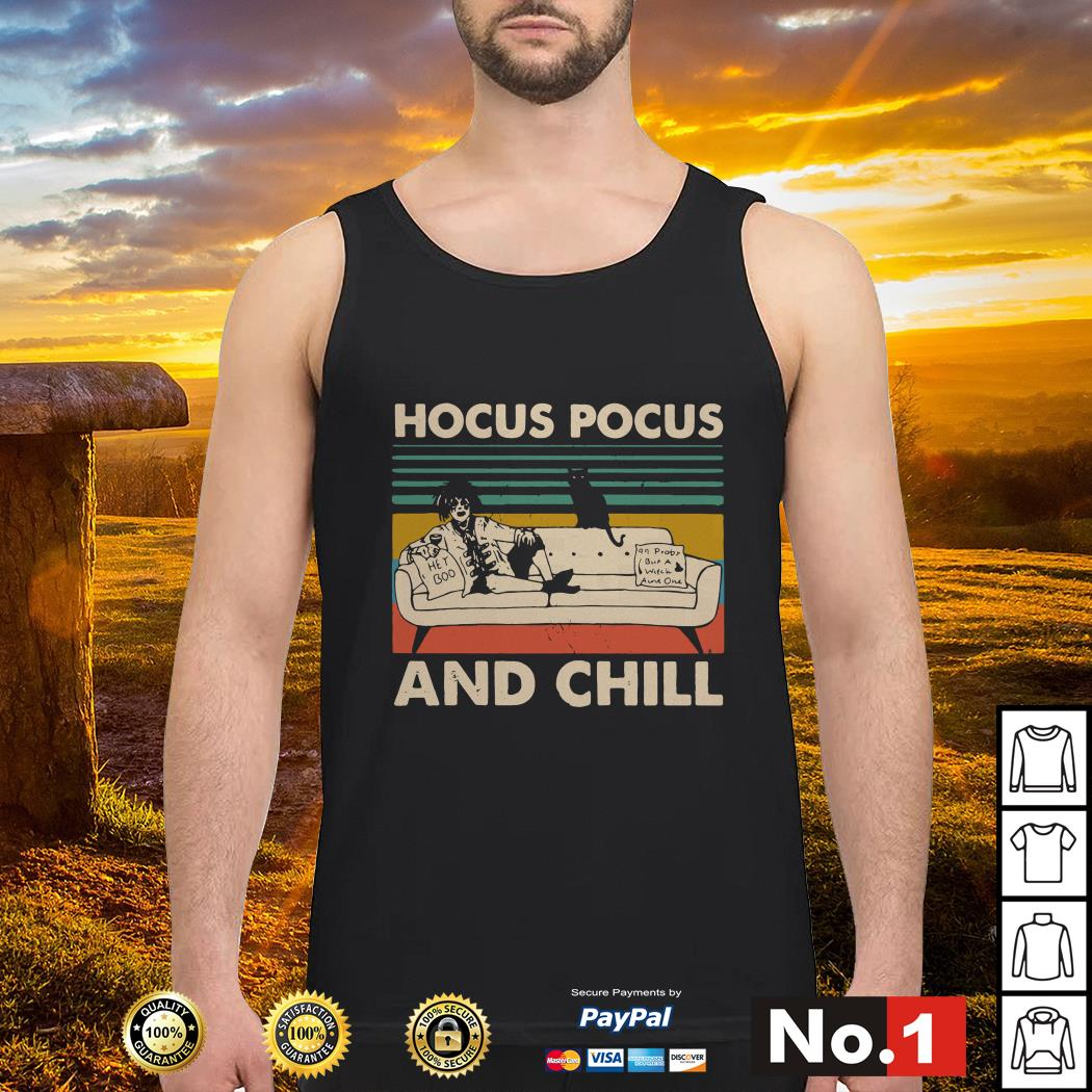 Hocus Pocus and chill vintage tank-top