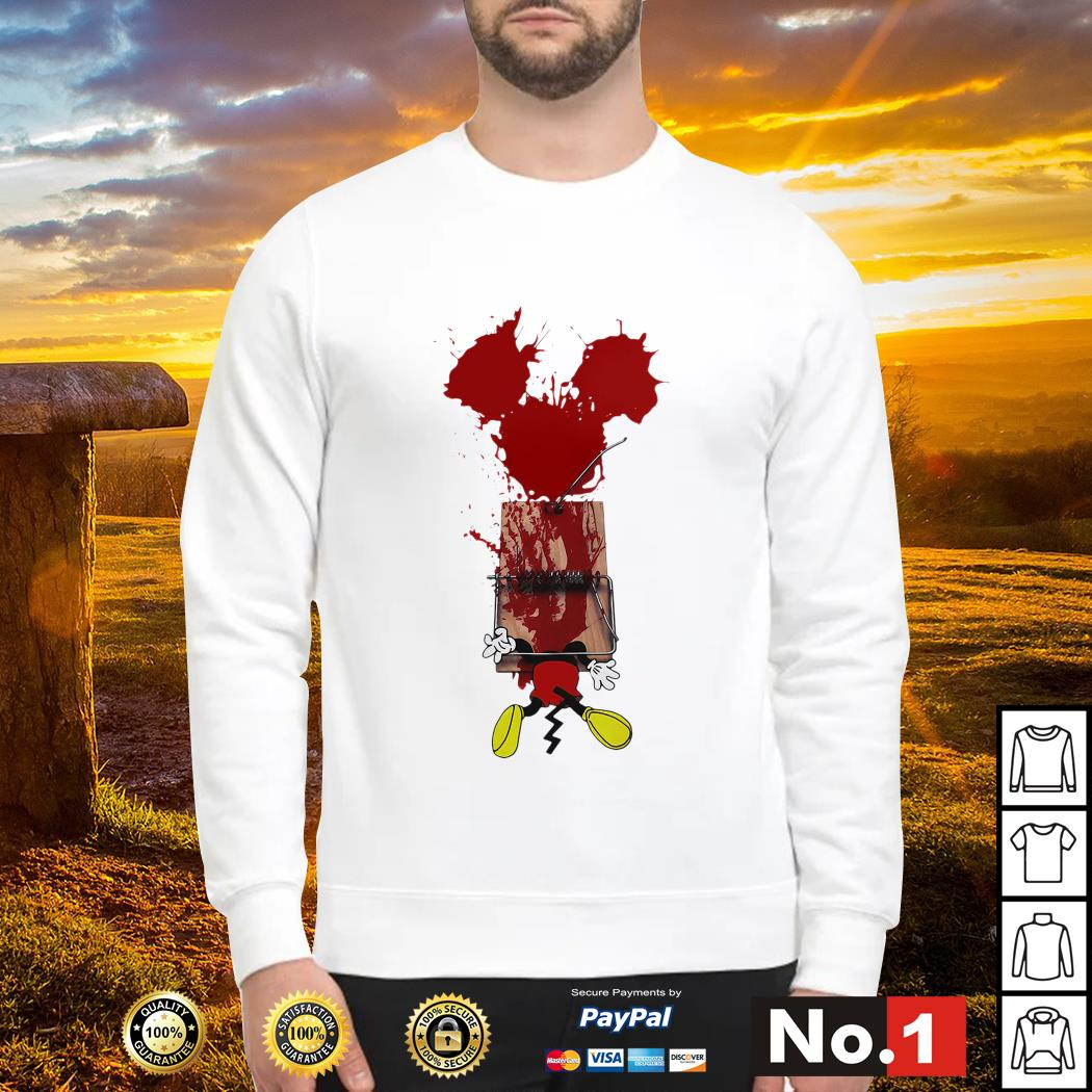 Mickey mouse trapped sweater