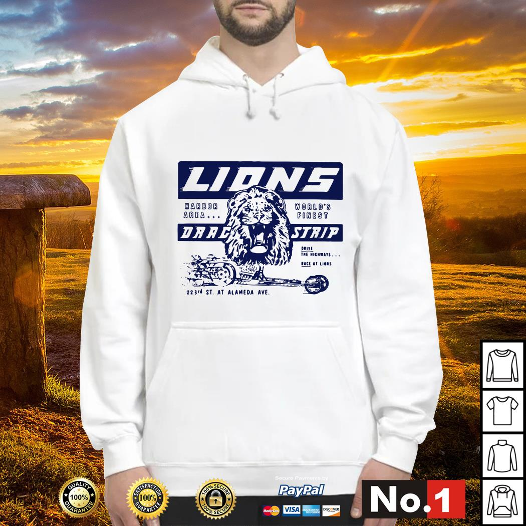 Once upon a time in Hollywood Lions drag strip hoodie