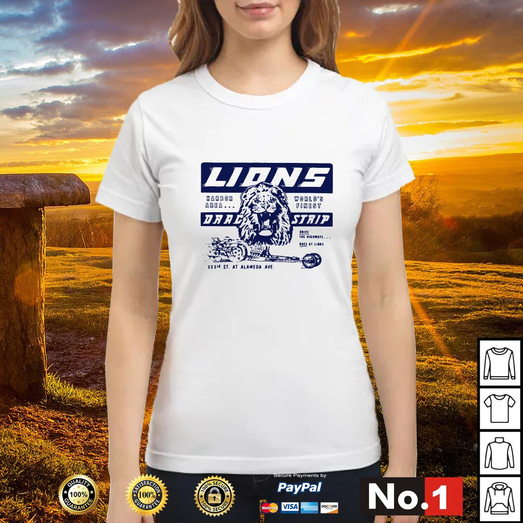 Once upon a time in Hollywood Lions drag strip ladies-tee