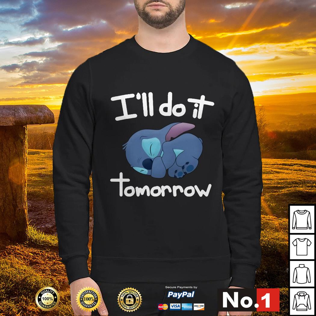 Stitch I'll do it tomorrow sweater