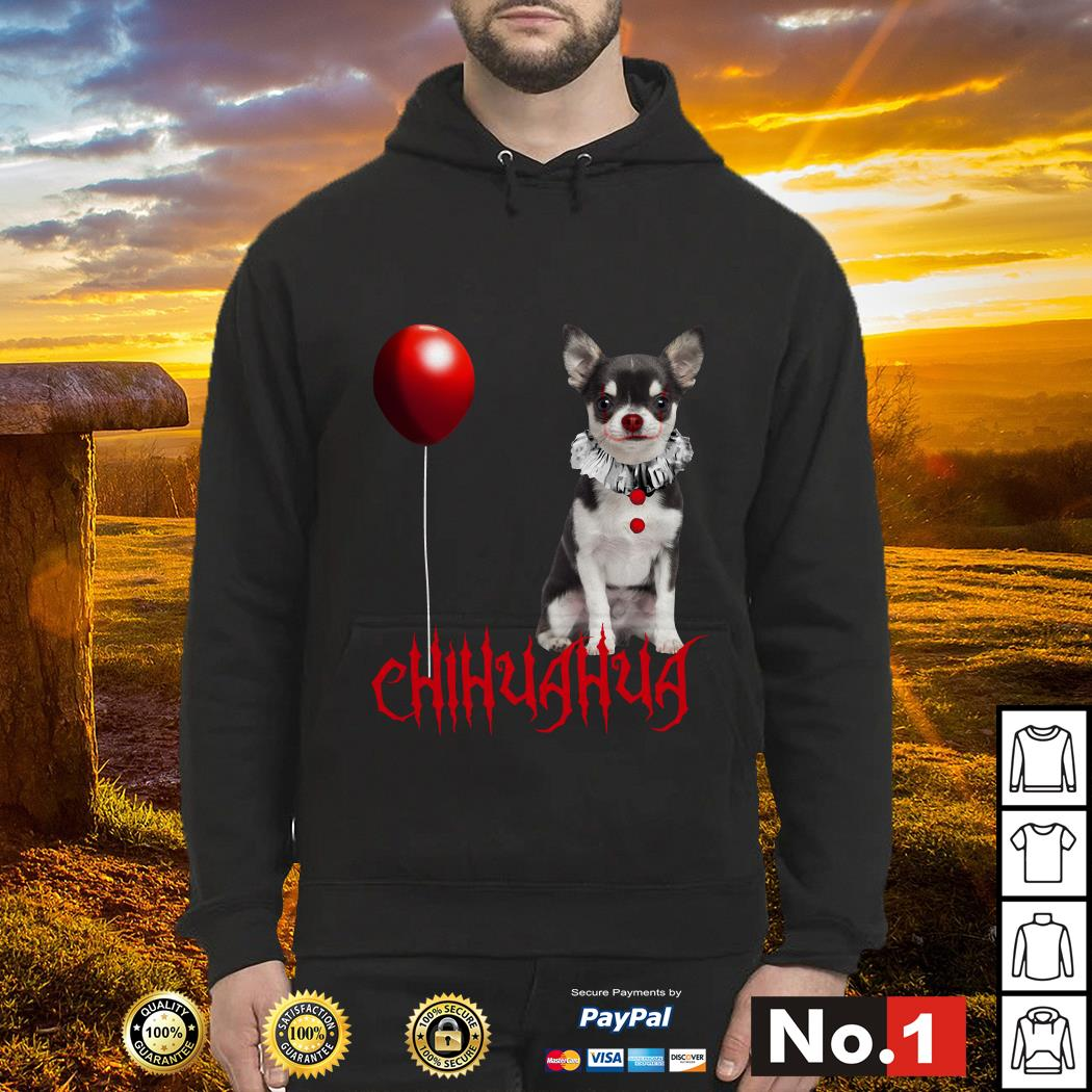 IT Pennywise Chihuahua hoodie