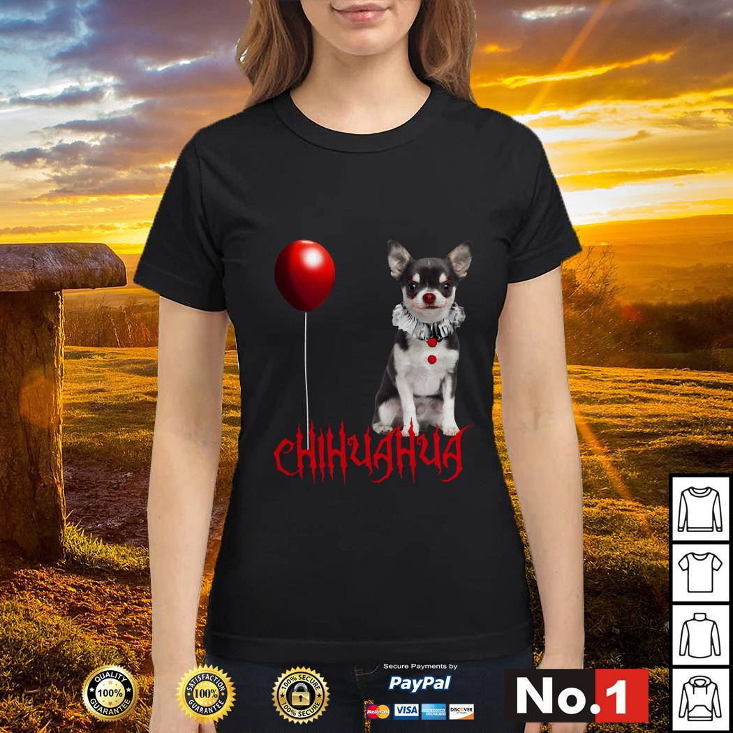 IT Pennywise Chihuahua ladies-tee