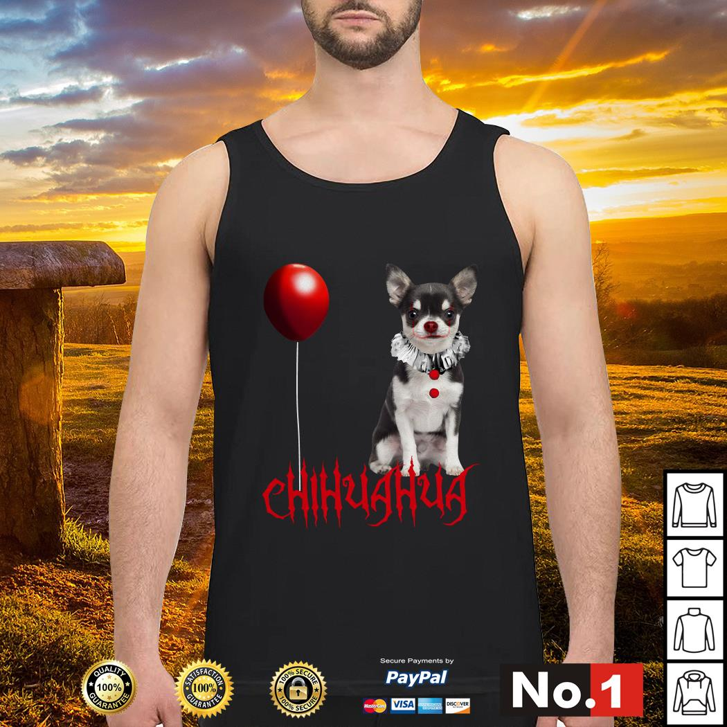 IT Pennywise Chihuahua tank-top