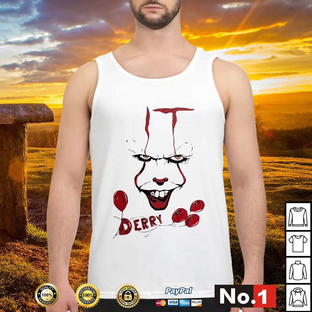 IT Pennywise Derry tank-top